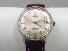1966 OMEGA SEAMASTER DE VILLE VINTAGE MENS WATCH. It was a very good year.