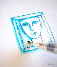 easy watercolor painting, even if you're not a painter
