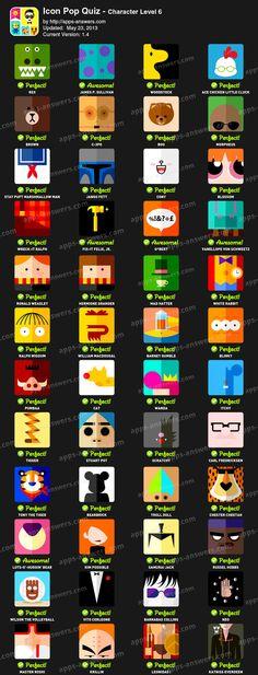 Icon Pop Quiz Character Level 6 #icon #quiz #games