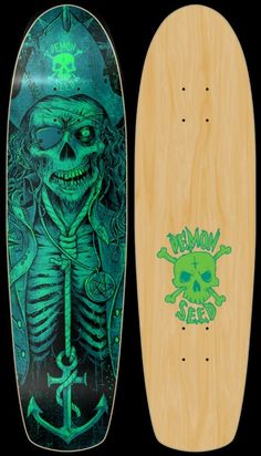 Pirate Cruiser Skateboard