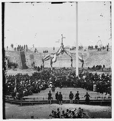 american flag 1865