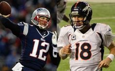 NFL 2014: Broncos - Patriots Features All-Time QB Greats - For the 16th time of their storied careers, Peyton Manning faces Tom Brady as the the Denver Broncos (6-1) and New England Patriots (6-2) -- the top two teams in the AFC -- meet in Week 9