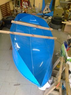 "I have already had experience in building boats ""Skif"" of wood. As a result of its use, I wanted to make the boat as light in weight and with the..."
