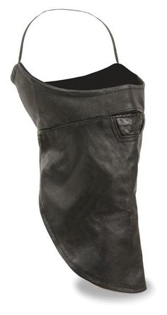 Milwaukee Leather Lower Face Mask with Satin Liner