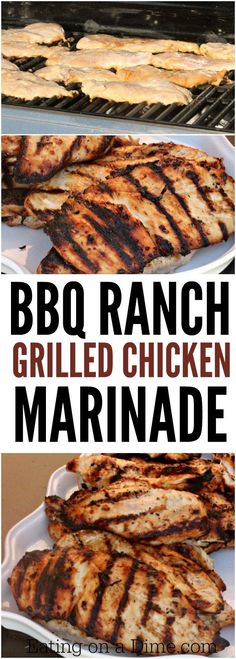 grilled chicken marinade. This is the one of the best grilled chicken ...