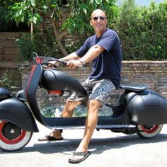 the only vespa I would own