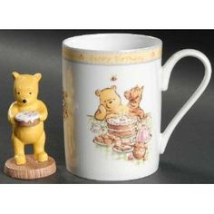 """Winnie the Pooh is adorable, sweet and popular. The Pooh gifts offered here are sure to please any Pooh fan. There are also products here that are great for collectors. Pooh gifts say, """"I love you big time. Winnie The Pooh Quotes, Winnie The Pooh Friends, Eeyore, Tigger, Birthday Mug, Happy Birthday, Stars Disney, Cartoon Museum, Cartoon Books"""