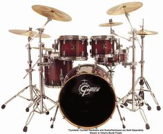 Gretsch Drums Renown Maple. Famous players of Gretsch? Phil Collins for one.