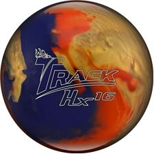 Track Hx16 Bowling Ball - (Free Shipping). The Hx16 is a unique ball for high rev players, typically bowlers that fall into this category would look to less dynamic cores to match up to their games, this perfect combination of weaker coverstock along with a dynamic core design offers great length and great backend for higher rev players with the most dynamic core available to this style.