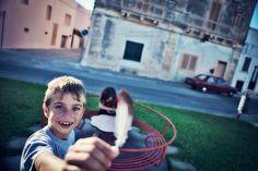 In occasione delle Olimpiadi del Salento 2012 il fotoreporter Marco Palladino ha realizzato un reportage sulle terre e i comuni che ospitano gli eventi. Il