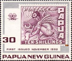 Papua New Guinea 1972 Stamp on Stamps Fine Mint SG 265 Scott 394 Other European and British Commonwealth Stamps HERE!