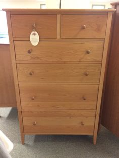 Shaker Chest W/cedar Lined Sweater Drawers, Chilton Furniture, Freeport, ME,