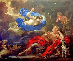 Άρτεμις και Ενδυμίων 1675-80