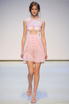 Check Mate!  Christopher Kane spring 2010