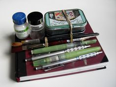 Sketching Kit (London Trip) closed by Oona Leganovic, via Flickr