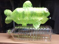 Preschool Crafts for Kids*: Plastic Bottle Fish Lantern Craft