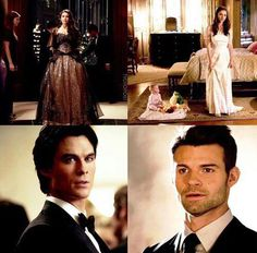 #TVD #TO The Vampire Diaries, The Originals Elena & Damon/Hayley & Elijah