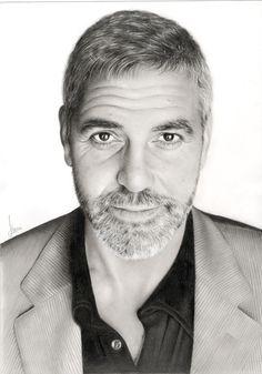 George Clooney by kim ji-hoon