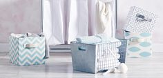 336453 Organize in Style: Woven Baskets to Printed Bins