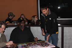 Joe Greene Public Signing 11-28-14 #PittsburghSteelers #JoeGreenesigning #totalsportsenterprises