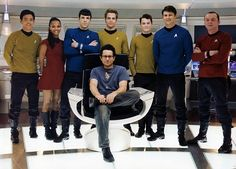 Star Trek 2009 with director J.J. Abrams