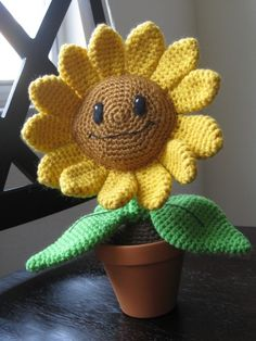 Plants vs Zombies - Sunflower crochet