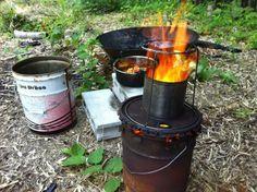 オイル缶の空き缶を使った自作TLUDストーブ作り方(技術力不要) | 里山から世界に貢献するNPO法人チャコールブラックス