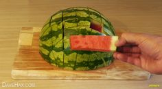 Oh, and by the way…you've been cutting watermelon wrong this whole time: | 33 Kitchen Tricks To Save You Time And Hassle