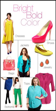 Brights and neons are right on trend for this Spring. Color-blocking is still a huge fashion trend and is seen all over the runway. Tangerines, yellows, bright pinks and blues are the bold colors of the season making Spring the brightest of all seasons.