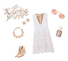 """""""Untitled #62"""" by ekaterina-potapova on Polyvore featuring STELLA McCARTNEY, Ray-Ban, Rupert Sanderson, Mixit, J.Crew, Essie, women's clothing, women, female and woman"""