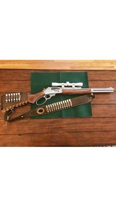 12 loop Basket weave sling and wrap combo! Weapons Guns, Guns And Ammo, Shotguns, Firearms, Buffalo Brand, How To Make Metal, Gun Vault, Lever Action Rifles, Hunting Rifles