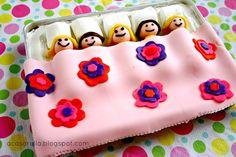 'A Casarella: Slumber Party Birthday Cake