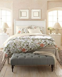 Swedish Bed and Classic Nightstand available @ CoachBarn.com in many finishes. #coachbarn #beds #swedishbed