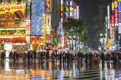 Rain in Shinjuku / By ThirtyFive Millimeter