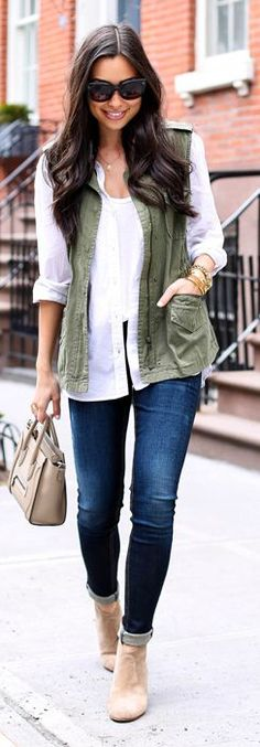 Utility Vest Inspiration Outfit