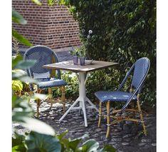 Sika-Design - Sofie Cafestol - Blå - Rattan Cafestol