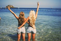 Need this now. Beach, water, blonde