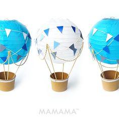 Caprichoso aire caliente globo decoración DIY kit por mamamaonline