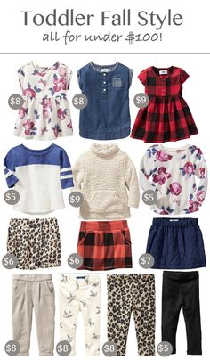 Toddler Wardrobe | Capsule Wardrobe | Old Navy Sale www.styleyoursenses.com