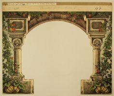 Schreiber: Orientalischer Garten - Kulisse 1, Nr. 47 (Alte Ausgabe, großes Format)