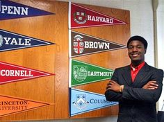 The Long Island high school senior who made news by being accepted to all eight Ivy League schools says he is heading to Yale, according to a report on NBC News today.