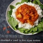 Syn Free Slow Cooker Chicken Curry