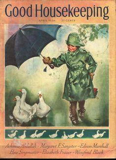 Good Housekeeping April 1936