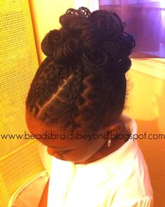 Beads, Braids and Beyond: Gorgeous Updo With Box Braids