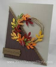 handmade fall cards - Google Search