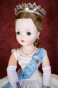 1950s Madame Alexander Cissy doll- she was my birthday gift when i was 10 in 1956. i still have her.