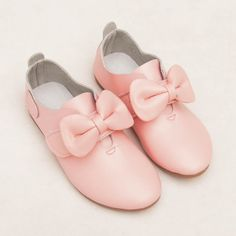 Cute Pink Leather Pageant Girl Girls Party Dress Oxfords Shoes SKU-133543