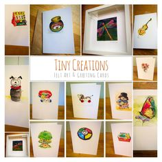 My next project. Greeting cards of my watercolour illustrations :) Coming very soon...