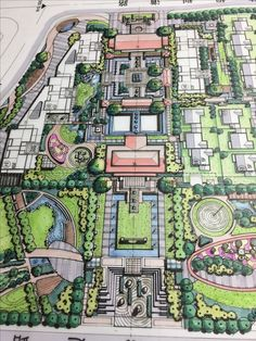 17 Newest Green Landscaping Sketch That You Can Try - - Landscape Architecture Drawing, Landscape Design Plans, Landscape Concept, Architecture Portfolio, Architecture Plan, Urban Landscape, Urban Design Plan, Parking Design, Urban Planning