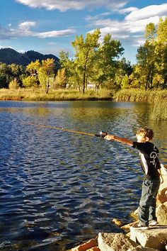 What could possibly be better than being a kid again on a sunny day with a fishing pole?!  Wonderland Lake in North Boulder offers this PLUS unobstructed views of the foothills.  If you live in North Boulder, all of this is a short walk or bike ride away. Livin' the dream in NoBo!